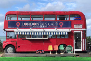 ロンドンバスカフェ画像